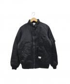 BEDWIN(ベドウィン)の古着「MA-1ジャケット」 ブラック