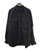 DAIWA PIER39(ダイワ ピアサーティンナイン)の古着「シャツ」 ブラック