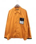 PORTVEL(ポートヴェル)の古着「ポケットデザインシャツ」 ライトブラウン