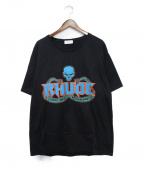 RHUDE(ルード)の古着「Skull&Snake Tee」|ブラック