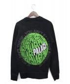PALACE(パレス)の古着「スウェット」|ブラック