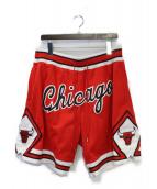 JUST★DON(ジャストドン)の古着「Swingman Shorts - CHI Bulls」|レッド