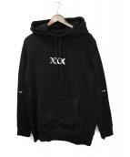 GOD SELECTION XXX(ゴットセレクショントリプルエックス)の古着「パーカー」|ブラック