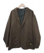 ()の古着「ツイードジャケット」|ブラウン