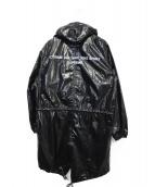 ()の古着「fishtail parka」|ブラック