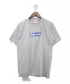 ()の古着「Bandana Box Logo Tee」|グレー