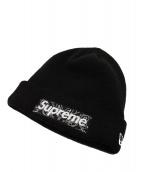 Supreme(シュプリーム)の古着「バンダナBOX LOGO ニットキャップ」 ブラック