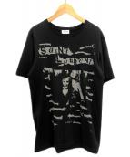 ()の古着「ジャガードTシャツ」|ブラック