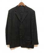 Y's for men(ワイズフォーメン)の古着「シルク混ギャバジン織セットアップスーツ」|ブラック