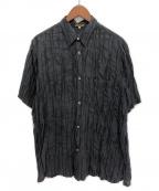 Y's for men(ワイズフォーメン)の古着「半袖シャツ」|ブラック