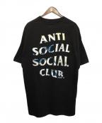 anti social social CLUB(アンチソーシャルソーシャルクラブ)の古着「Tシャツ」 ブラック