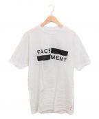 FACETASM(ファセッタズム)の古着「×FRAGMENT FACE/MENT TEE 02」 ホワイト