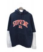 ()の古着「XXL Hooded Sweatshirt」|ネイビー