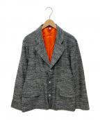 PIGALLE(ピガール)の古着「テーラードジャケット」 ネイビー