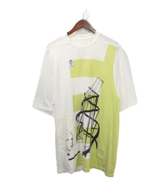 DRKSHDW(ダークシャドウ)DRKSHDW (ダークシャドウ) Jumbo Tee ホワイト サイズ:XSの古着・服飾アイテム