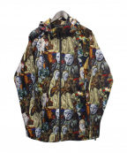 RIPNDIP(リップンディップ)の古着「総柄ジャケット」 マルチカラー