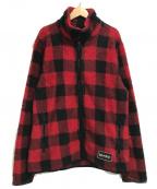 M+RC NOIR(マルシェノア)の古着「フリースジャケット」|レッド×ブラック
