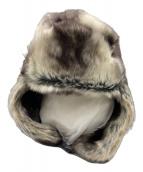 ()の古着「20AW Faux Fur Trooper」 ブラウン