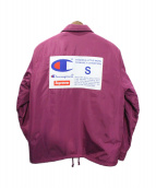 ()の古着「18AW Label Coaches Jacket」|エンジ