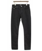 Dior(ディオール)の古着「スキニーデニムパンツ」|ブラック