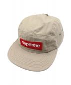 SUPREME(シュプリーム)の古着「キャンプキャップ」|ベージュ