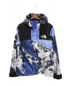 SUPREME(シュプリーム)の古着「Mountain Parka」|ホワイト×ブルー