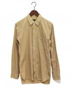 COMME des GARCONS HOMME PLUS(コムデギャルソン オムプリュス)の古着「スタッズデザインシャツ」 ベージュ