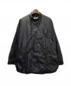 OLD JOE & Co.(オールドアンドジョー)の古着「WAXED BLACK PANTHER JACKET」|ブラック