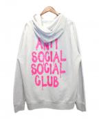 anti social social CLUB(アンチソーシャルソーシャルクラブ)の古着「パーカー」 グレー