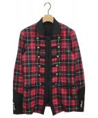 ()の古着「ナポレオンジャケット」|レッド