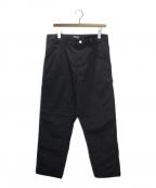 Carhartt WIP(カーハートダブリューアイピー)の古着「ナイロンペインターパンツ」 ブラック