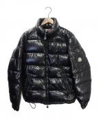 MONCLER()の古着「MAYAダウンジャケット」|ブラック