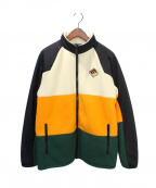 BURBERRY()の古着「Ecclesford Track Jacket」|オレンジ×ベージュ