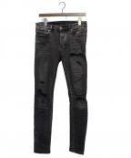 Ksubi(スビ)の古着「Van Winkle Angst Jean」 ブラック