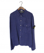 STONE ISLAND(ストーンアイランド)の古着「シャツ」|ネイビー