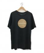 COACH(コーチ)の古着「シグネチャーTシャツ」|ブラック