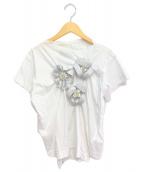 ()の古着「リボンTシャツ」|ホワイト