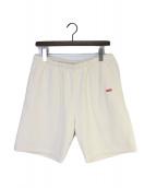 ()の古着「Small Box Sweat Shorts」|アイボリー