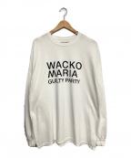 WACKO MARIA(ワコマリア)の古着「CREW NECK LONG SLEEVE T-SHIRT」|ホワイト