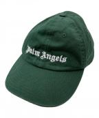 Palm Angels(パームエンジェルス)の古着「CLASSIC LOGO CAP」|グリーン