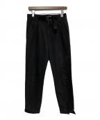 ALYX(アリクス)の古着「ローラーコースターバックルパンツ」 ブラック