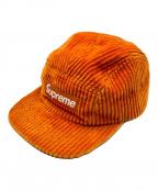 SUPREME(シュプリーム)の古着「Corduroy Camp Cap」|オレンジ