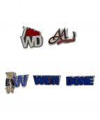 WE11DONE(ウェルダン)の古着「SET OF WE11DONE PINS」