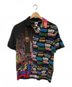 BILLIONAIRE BOYS CLUB(ビリオネアボーイズクラブ)の古着「オープンカラーシャツ」 マルチカラー