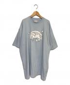 VETEMENTS()の古着「Blue Magic Unicorn T-Shirt」|スカイブルー