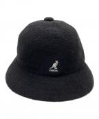 KANGOL × BlackEyePatch(カンゴール × ブラックアイパッチ)の古着「バケットハット」|ブラック