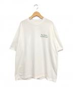 ENNOY(エンノイ)の古着「ロゴTシャツ」|ホワイト