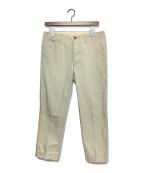 VISVIM(ビズビム)の古着「HIGH-WATER CHINO PANT」 ベージュ
