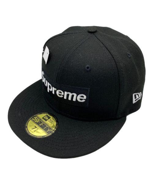 SUPREME(シュプリーム)SUPREME (シュプリーム) 21AW No Comp Box Logo ブラック サイズ:7 3/8 (58.7cm) 未使用品の古着・服飾アイテム
