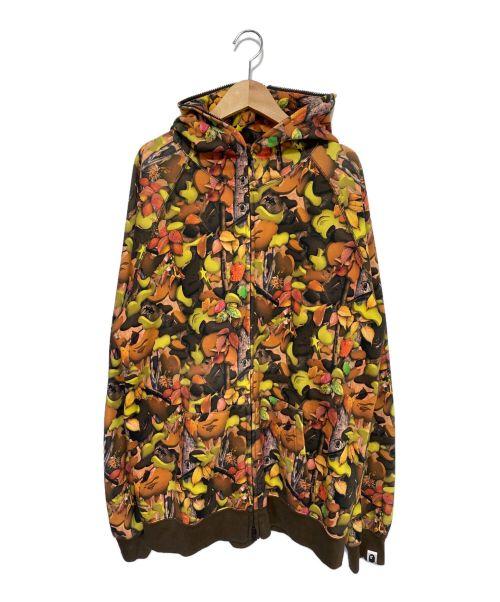 A BATHING APE(エイプ)A BATHING APE (アベイシングエイプ) パーカー オレンジ サイズ:XLの古着・服飾アイテム